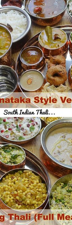 South Indian Thali recipe | Veg South Indian Lunch Menu Ideas | Karnataka Style Thali - Bon Appétit... Tags: karnataka style veg thali, karnataka style veg full meals, south indian veg full meals, recipe for south indian thali, recipe of south indian thali, south indian thali meal recipe, south indian thali recipes, traditional south indian thali recipes, south indian breakfast thali, south indian thali dishes, south indian thali recipe, veg south indian lunch menu ideas, karnataka style…
