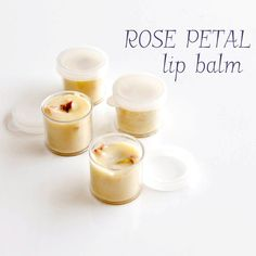 Don't Toss Your Flowers! DIY This Rose Petal Lip Balm