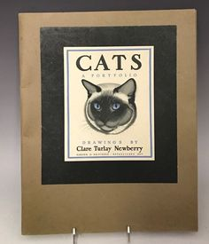 1ST CLARE TURLAY NEWBERRY 1943 Cats Kittens Illustrated Portfolio of 16 Drawings | Collectibles, Animals, Cats | eBay!