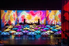 The 2013 Imagination Ball, from the Adrienne Arsht Center for Performing Arts of Miami-Dade County's Arsht Families membership circle, was designed for children. To that end, decor popped in colorful neon hues.  Photo: Justin Namon