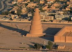 The Great Mosque of Samarra is a ninth-century mosque located in Iraq. For a time, it was the largest mosque in the world. These photos have been sent by iFilm viewer Muhammad Sadiq Hakim from Iraq.  You can always send your photos and videos to: Facebook: www.facebook.com/IFILM/  Viber: +989023011623 WhatsApp: +989023011623 Telegram: telegram.me/ifilmenglish Voice mail: +982123011622 www.ifilmtv.com/English