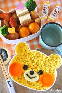 Now I have to get this bear bento =)    #Bento #Lunch #Kids