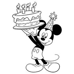 Here are the Interesting Mickey And Minnie Mouse Coloring Pictures Colouring Pages. This post about Interesting Mickey And Minnie Mouse Coloring Pictures . Happy Birthday Coloring Pages, Baby Coloring Pages, Valentine Coloring Pages, Cartoon Coloring Pages, Coloring Books, Disney Mickey Mouse, Mickey Mouse Birthday Cake, Mickey E Minie, Elmo Birthday