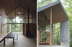 mizubata N house by iida archiship studio reframes the gable
