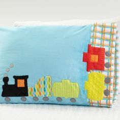Pillowcase Pattern 32: Train