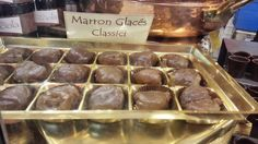 Marron glacé at the Chocolate Festival in Chocolate Festival, Southern Italy, Muffin, Beef, Breakfast, Food, Conkers, Ice, Morning Coffee
