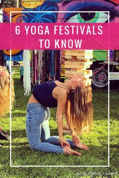 Yoga Festivals to Know - Pin now, read later!