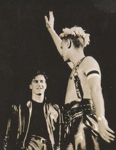 Alan Wilder + Martin Gore