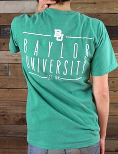 Classic Baylor University tee. GO BEARS! (Also available in long sleeve)