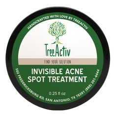 Made for daytime use and perfect under makeup, this spot treatment is completely invisible and mess-free. It's packed with potent, all-natural ingredients that fight acne from deep within your pores. while calming your skin, so you can be on your way to healthier, radiant skin, right away.  This product is vegan.
