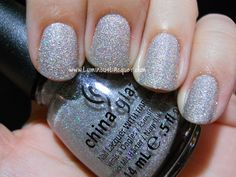 Luminous Lacquer: China Glaze Glistening Snow