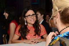 Actress, Julia Louis Dreyfus is a loyal supporter and wearer of SV! Check out her Love Strand Necklace--