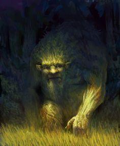 Clarkesworld Magazine - Science Fiction and Fantasy : Cover Art: Forest Spirit by Mike Azevedo Forest Creatures, Magical Creatures, Fantasy Creatures, Strange Creatures, Fantasy Magic, Fantasy World, Medieval Fantasy, Dark Fantasy, Illustrations