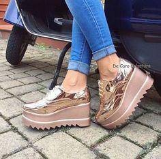 Shoes World New Shoes Shoes Heels Trendy Shoes Shoe Closet Beautiful Shoes Me Too Shoes Fashion Shoes Shoes And Socks Zpz Shoes, Sock Shoes, Cute Shoes, Wedge Shoes, Me Too Shoes, Shoe Boots, Shoes Sneakers, Platform Shoes, Funky Shoes
