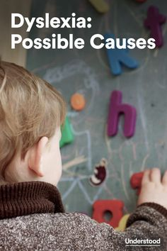 Possible causes of #dyslexia