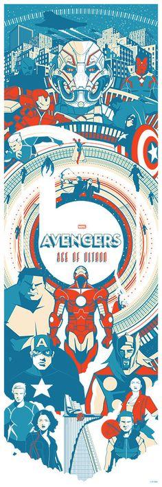 "Avengers - Age of Ultron - Marinko Milosevski ---- Hero Complex Gallery presents ""Marvel's Avengers: Age of Ultron Art Showcase"" (2015-05)"