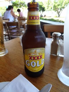 Australia - XXXX Gold Brisbane Australia, Australian Beer, Beer Cellar, Beer Club, Beer Store, Beers Of The World, Beer Brands, Beer Label, Root Beer