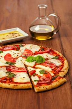 Fresh Mozzarella Margherita Pizza featuring Galbani® Fresh Mozzarella Ball
