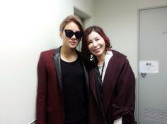 Junsu and his Mom backstage at Tokyo concert