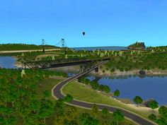 Mod The Sims - Mayhaven, decorated neighborhood