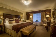 5 star Hotel Accommodation - The Shelbourne Dublin, a 5 Star Renaissance Hotel, offers luxury accommodation in the centre of Dublin 5 Star Hotels, Best Hotels, Luxury Hotels, Shelbourne Hotel Dublin, Luxury Accommodation, Luxury Getaways, Renaissance Hotel, Guest Room, Bedroom Decor