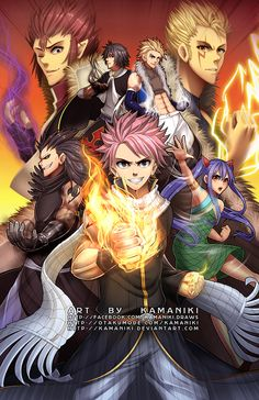 Fairy Tail: Dragon Slayers by Kamaniki.deviantart.com on @DeviantArt