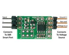 voltage telemetry $8, Analog Voltage sensor for FrSky X8R Receivers use with Taranis