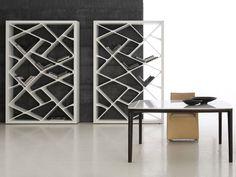 Awesome Concrete furniture: ideas for home decor, Shanghai bookcase, Giuseppe Bavuso, Alivar, 2012  