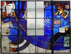 Latimer Theatre, Kettering complete design of architectural glass screen