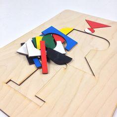 Wooden puzzle by Jamie Jones