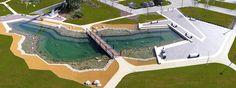 Graphisoft-Park-by-Garten-Studio-04-lake-panorama « Landscape Architecture Works   Landezine