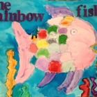 Using glue and watercolors to create the beautiful Rainbow Fish. Storybook Crafts, Rainbow Fish, Fun Activities, Watercolors, Teaching, Create, Kids, Beautiful, Young Children