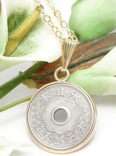 Japanese Coin Jewelry | Coin Necklace | Diane Schamp | Jewelry Making Journal