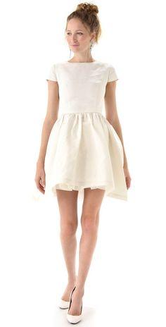 Katie Ermilio Petticoat Tea Dress