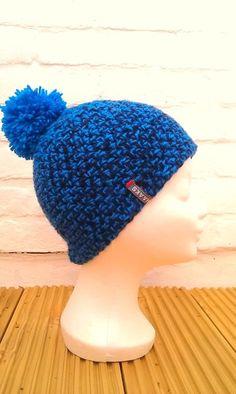 Hippe gehaakte muts van HAAKS New Hobbies, Chrochet, Crochet Hats, Beanie, Knitting, My Style, Etsy, Caps Hats, Winter