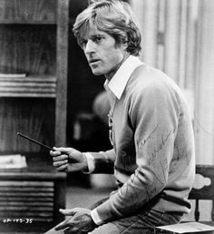Robert Redford on the Set of 'Ordinary People'