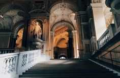 """alpinistoamericano: """" lunarix: """" Naturhistorisches Museum, Wien """" I loved this museum. Slytherin, Naturhistorisches Museum Wien, Arquitectura Wallpaper, Harry Potter Aesthetic, The Secret History, Story Inspiration, Architecture, Gothic, Beautiful Places"""
