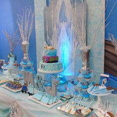Jasmin M's Birthday / Frozen - Photo Gallery at Catch My Party Baby Girl First Birthday, Frozen Birthday Party, Frozen Party, 3rd Birthday, Birthday Ideas, Birthday Parties, Frozen Photos, 1st Birthdays, Birthday Party Decorations