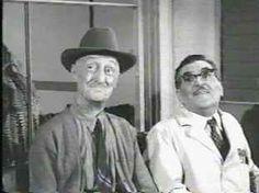 Judd Crowley (Burt Mustin) and Floyd Lawson (Howard McNear)