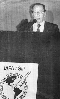 Alejandro Miró Quesada Garland en la SIP. Crédito: Archivo El Comercio
