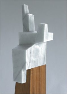// Jorge Oteiza. Marble & wood = so good.