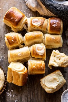 Low Carb Recipes To The Prism Weight Reduction Program Salted Honey Butter Parker House Rolls Thanksgiving Recipes, Holiday Recipes, Parker House Rolls, Honey Butter, Salt And Honey, Half Baked Harvest, Fresh Bread, Holiday Dinner, Baking Center