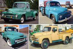 La historia de las camionetas International ← Old Partners