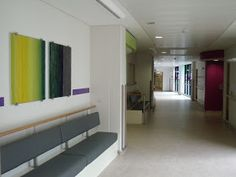 Laura Thomas Woven Textiles: Cynon Valley Hospital commission