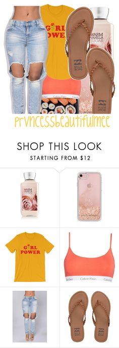 """"" by prvncessbeautifulmee ❤ liked on Polyvore featuring Rebecca Minkoff, Calvin Klein and Billabong"