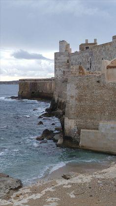 Castel Maniace, the island Ortigia, Siracusa, Sicily