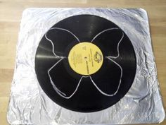 Vinyl Record Butterflies by Hearts