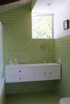 green + cabinet
