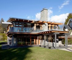Modern house in BC by architect Kevin Vallely, of Kallweit Graham Architecture