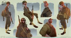 'The Soldiers' Speed Drawing by Sergio Pablos – On Animation